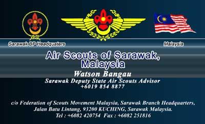 air scout sarawak-watson