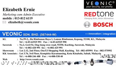 VEONIC NAMECARD - Elizabeth 2009 +redtone copy