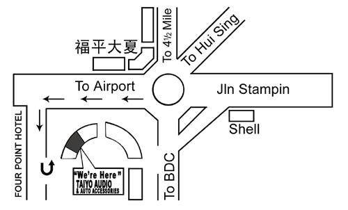 Taiyo Namecard Map