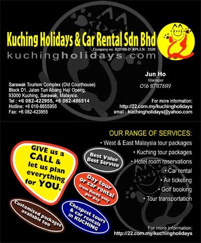 Kuching Holidays Car Rental Sdn Bhd