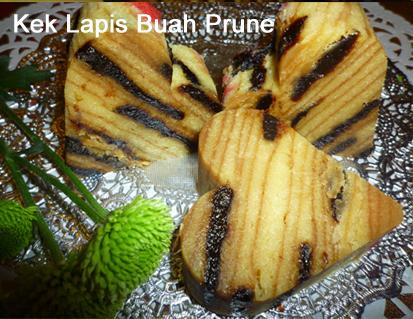 Kek Lapis Buah Prune