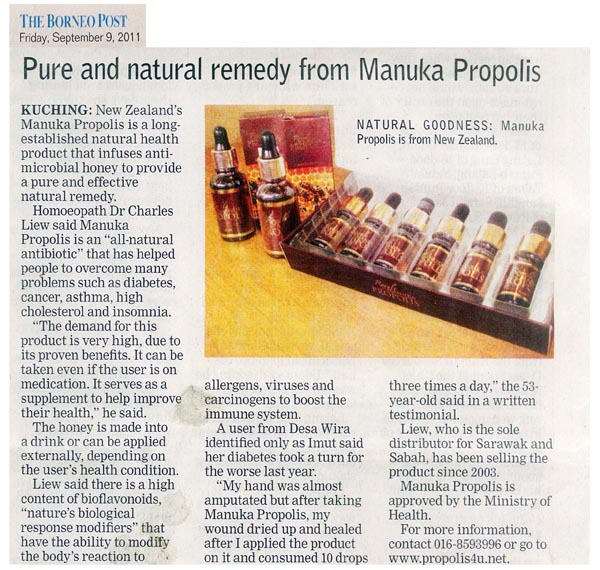 The Borneo Post - Pure & natural