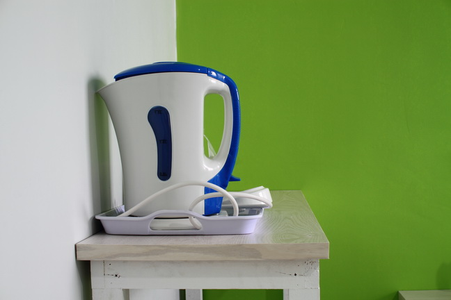kettle on the room