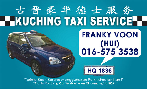 Kuching Taxi Services - HQ1836