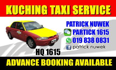 Kuching Taxi Service - HQ1615
