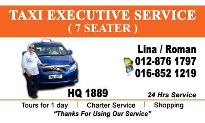 Taxi Executive Service ( 7 Seater )