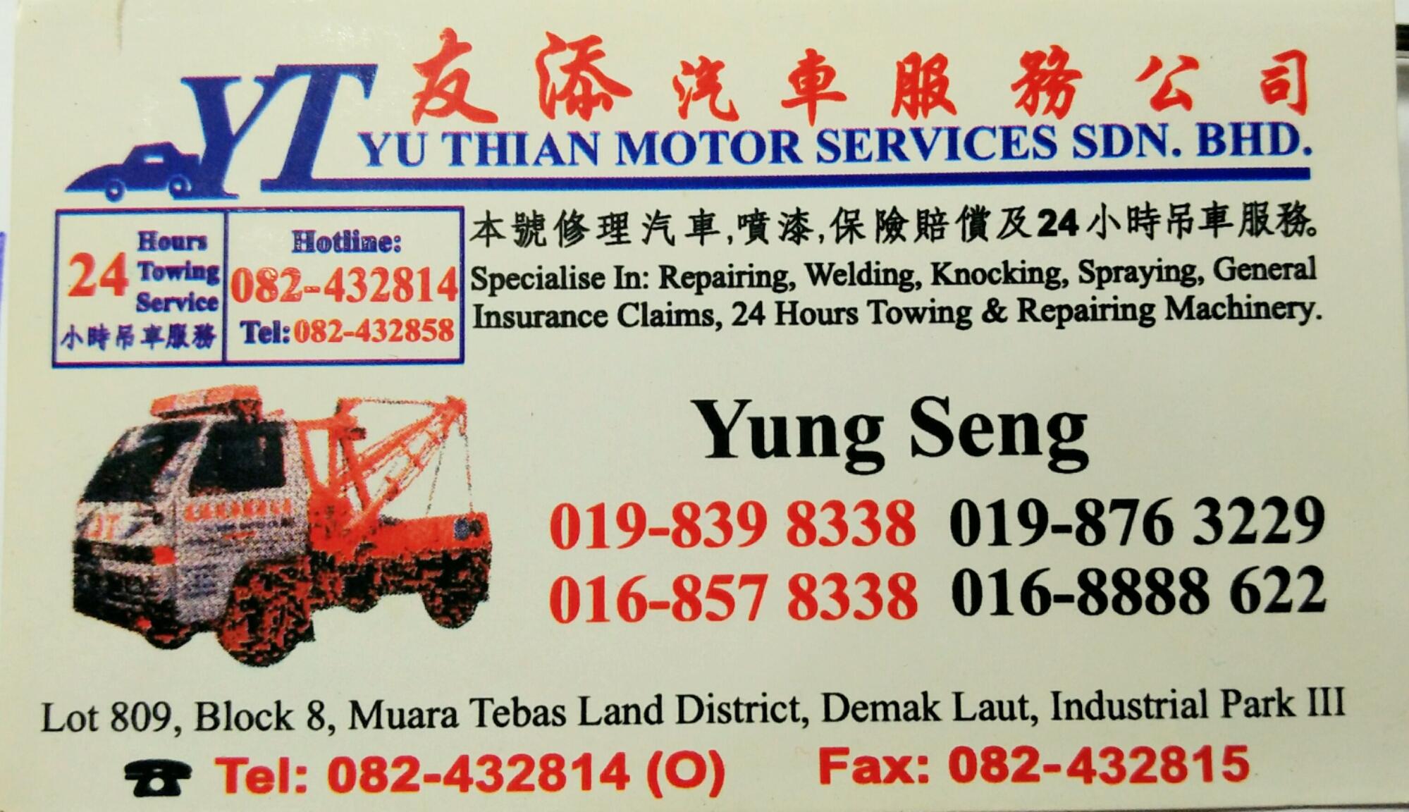 Yu Thian Motor Services Sdn. Bhd.