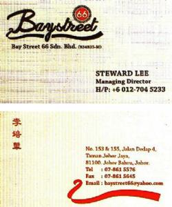 Bay Street 66 Sdn. Bhd. (Johor)