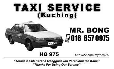Bong Taxi Service - HQ 975