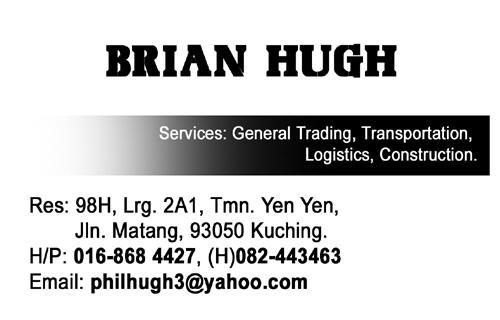 BRIAN HUGH