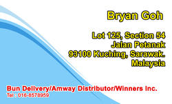Bun Delivery/Amway Distributor/Winners Inc.