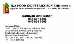 IKA FOOD INDUSTRIES SDN BHD