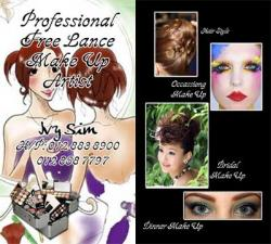 Professional Free Lance Make Up Artist - Ivy Sim