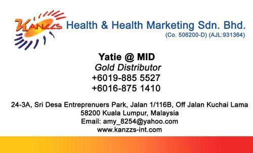 Kanzzs Health & Health Marketing Sdn. Bhd.