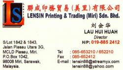 Lensin Printing & Trading (Miri) Sdn Bhd