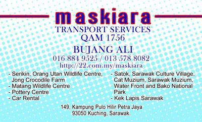 Maskiara Transport Service QAM 1756