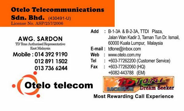 Otelo Telecommunications Sdn Bhd