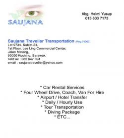 Saujana Traveller Transportation (Reg.79063)
