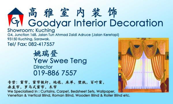 Goodyar Interior Decoration