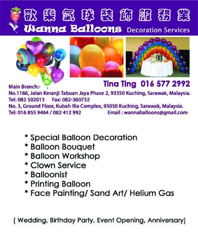 Wanna Balloons Decoration Services