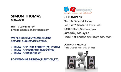 St. Company (Event Management Service)